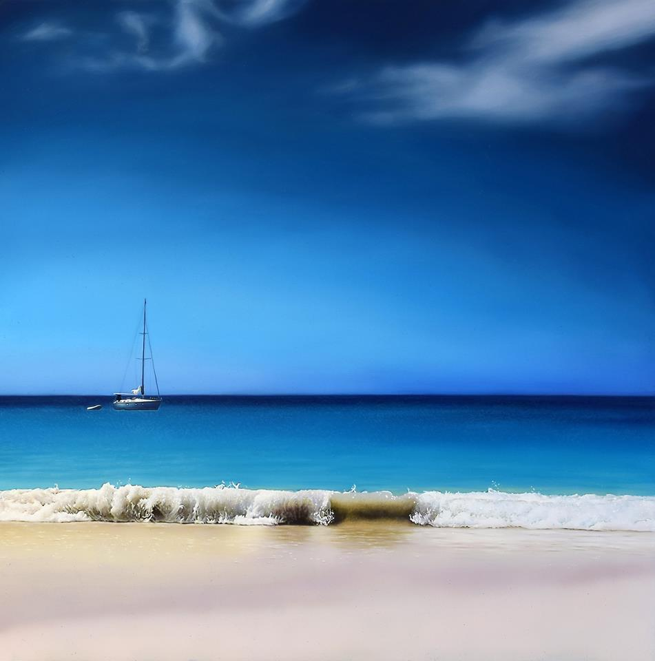 'Endless Blue' by artist Andrew Tough
