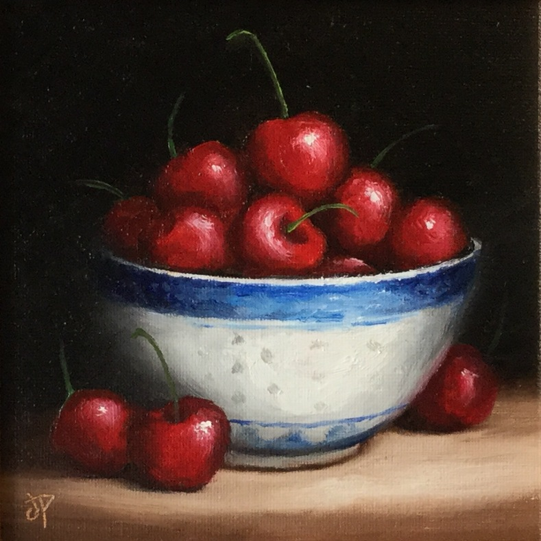 'Cherries' by artist Jane Palmer