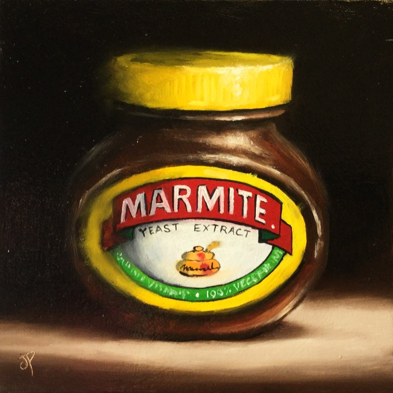 'Love it or Hate it - Marmite' by artist Jane Palmer