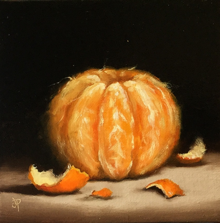 'Naked Clementine' by artist Jane Palmer