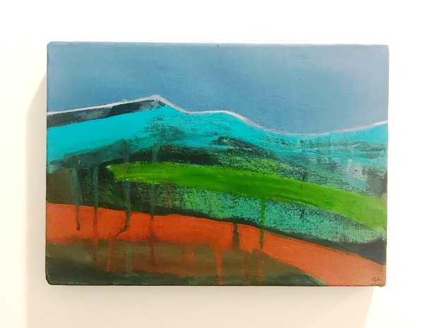 'Turquoise Hills' by artist Caroline Hone