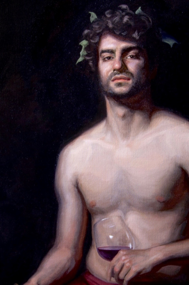 'Bacchus' by artist Sarah Margaret Gibson