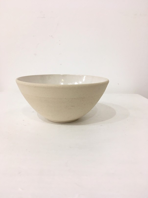 'Ivory Ash Bowl #2' by artist Robert Hunter