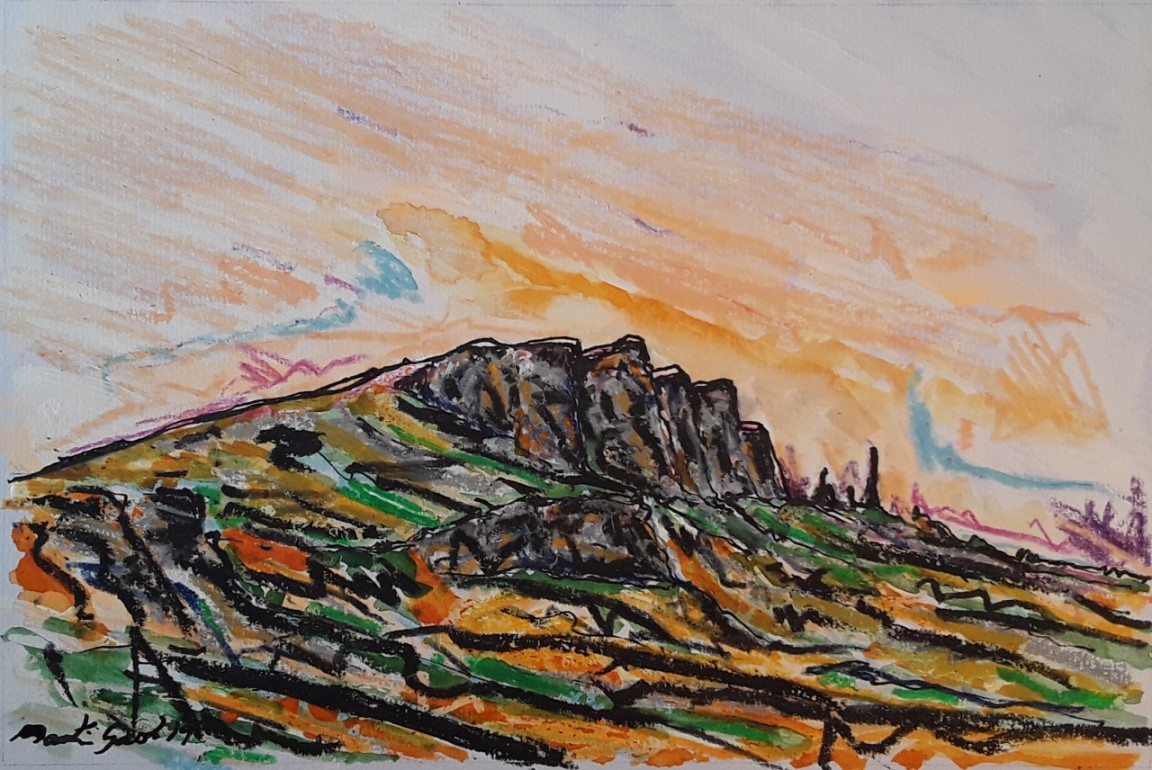 'The Old Man of Storr ' by artist Martin Gash