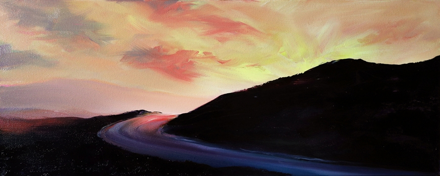 'Midsummers Drive' by artist Sarah Burns