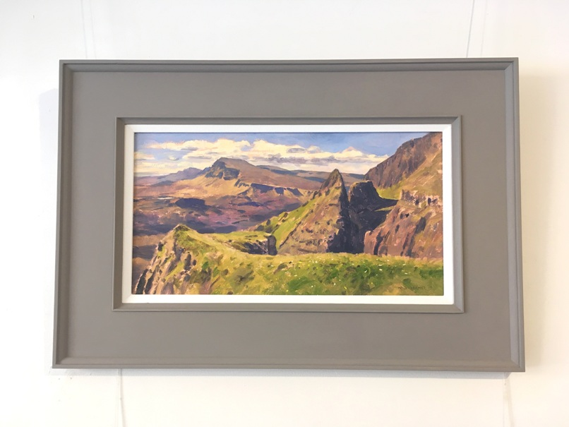 'Summer on Skye, Trotternish Ridge' by artist David  Deamer