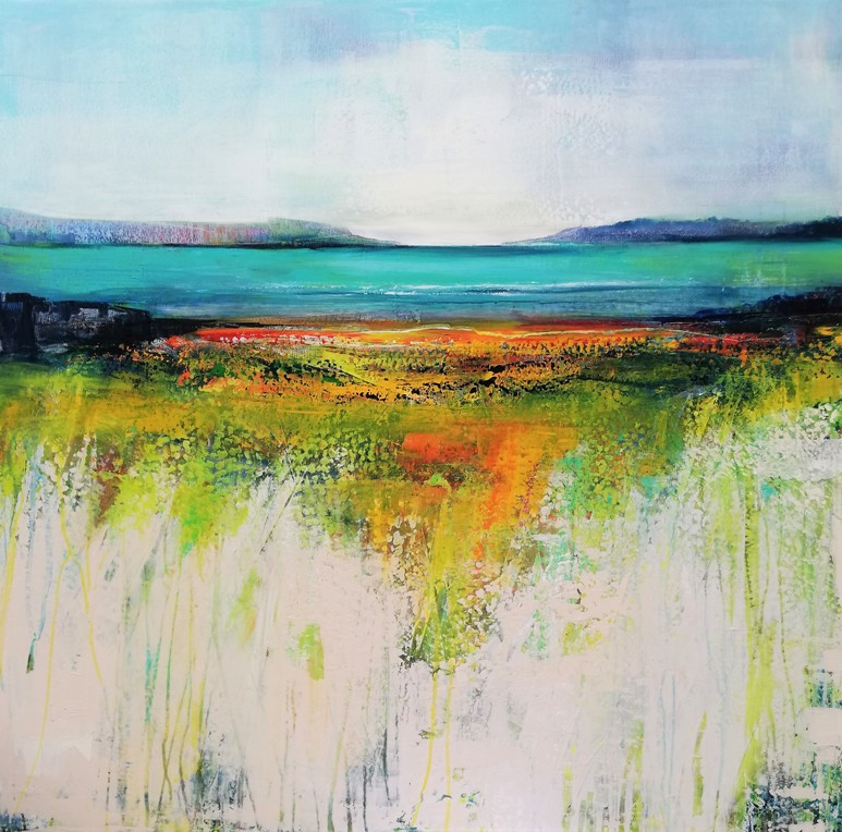 'Walking on the West Coast' by artist Anne Butler