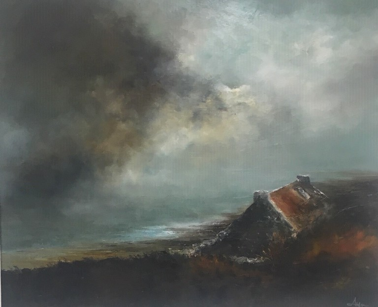 'Approaching Storm, Islay' by artist Alison Lyon