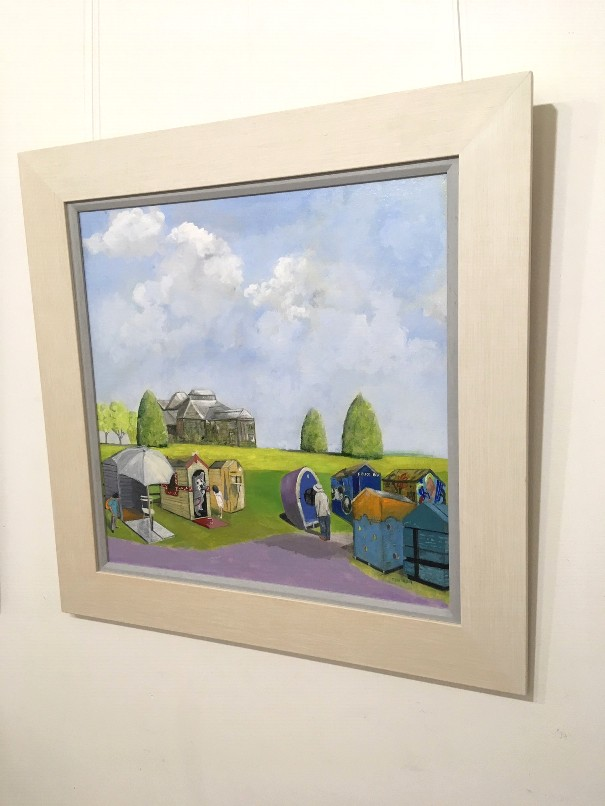 'Huts After the Exhibition' by artist Michael Murison