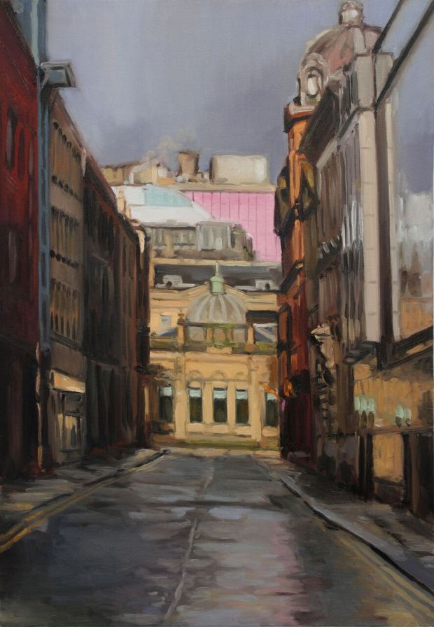 'Virginia Street, Glasgow ' by artist Thomas Cameron