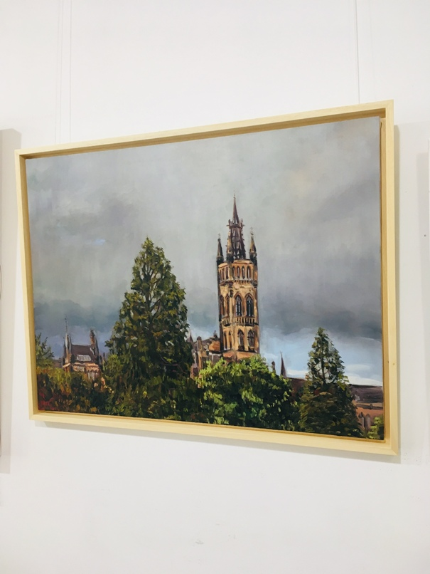 'The University of Glasgow' by artist Thomas Cameron