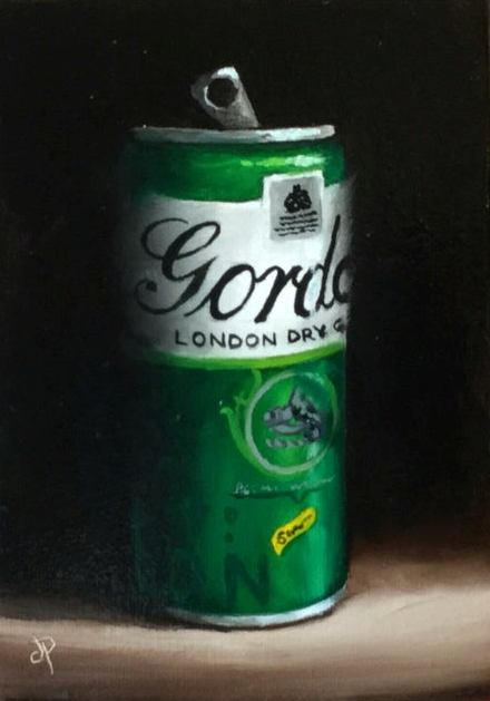 'Gin' by artist Jane Palmer