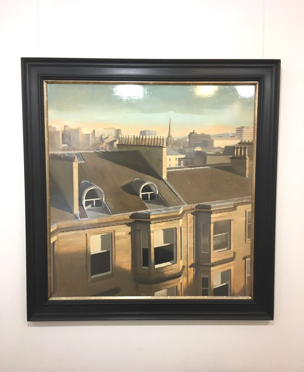 'Rooftops' by artist Dale Bissland