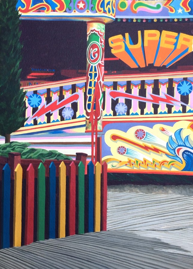 'The Waltzers ' by artist Anthea Gage RSW