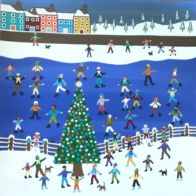 'Our Fantastic Christmas Tree' by artist Gordon Barker