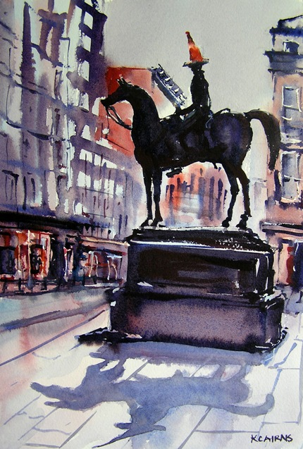 'Glasgow Crown' by artist Karen Cairns