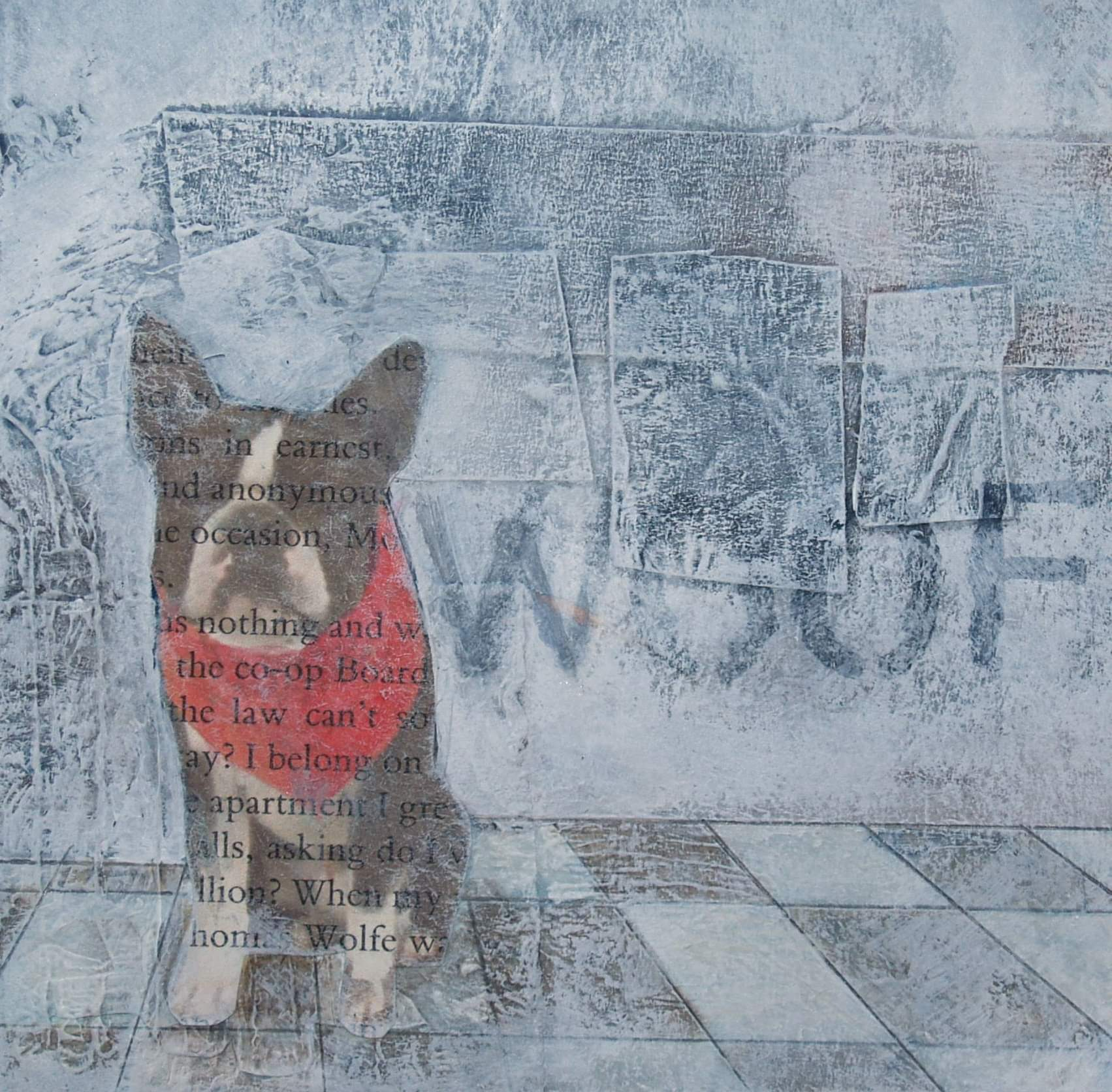 'Woof' by artist Gwen Black