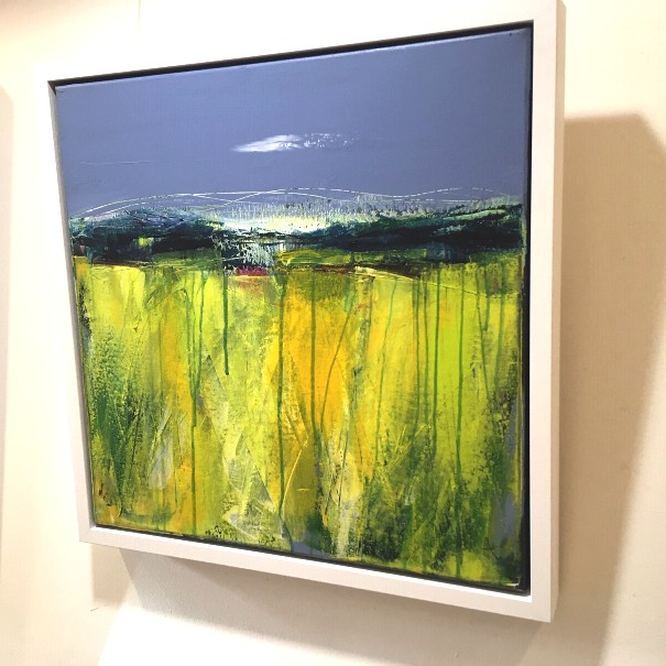 'Yellow Field' by artist Anne Butler