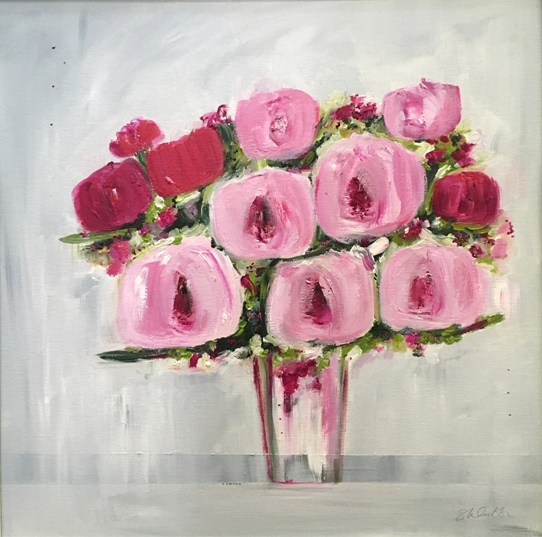 'Rose Flush' by artist Samantha McCubbin