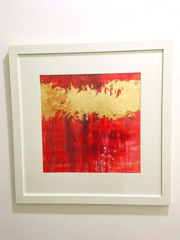 'Scarlet Aura' by artist Louise Matheson