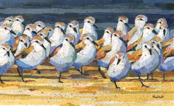 'The Gathering' by artist Paul Bartlett SWLA