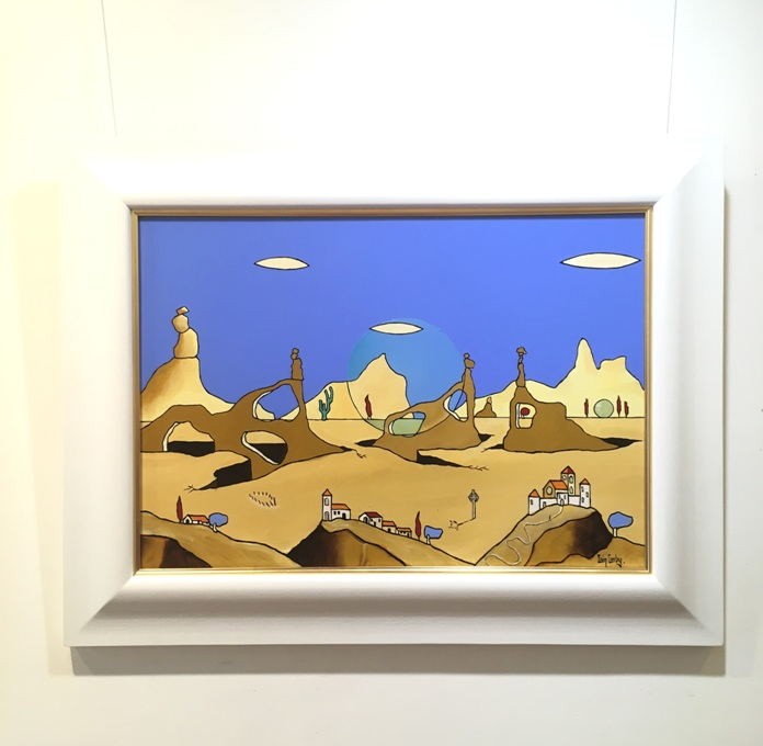 'Spheres (Epheria) Rolled Across the Land' by artist Iain Carby