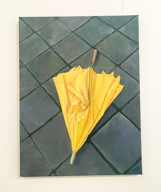 'Had to be Yellow' by artist Lee Robertson