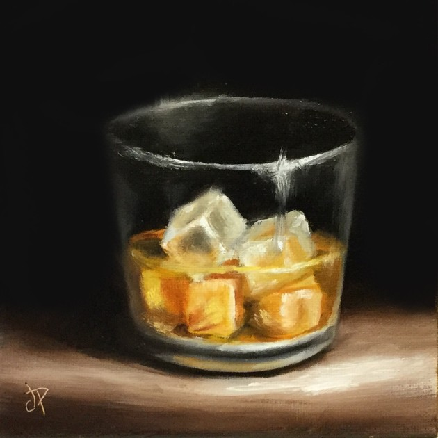 'Whisky' by artist Jane Palmer