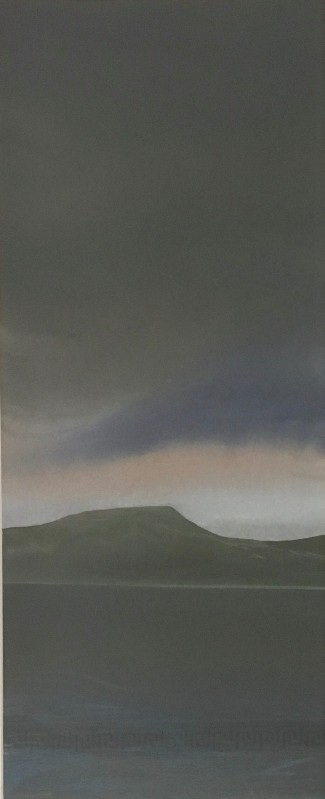 '100 Views of Dunrod Hill 'Gathering Storm'' by artist Anthea Gage RSW