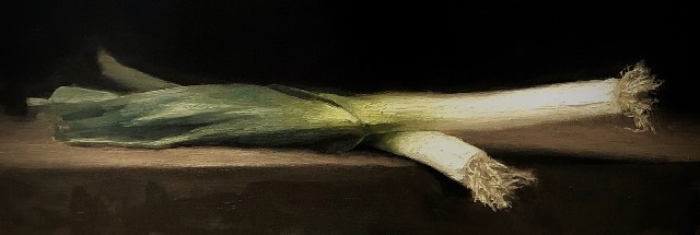 'Leeks' by artist Lee Craigmile