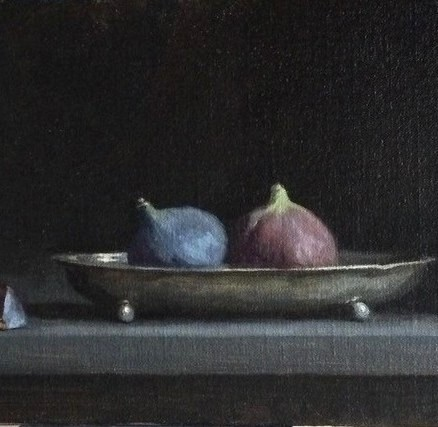 'Figs and Tarnished Silver ' by artist Sarah Margaret Gibson