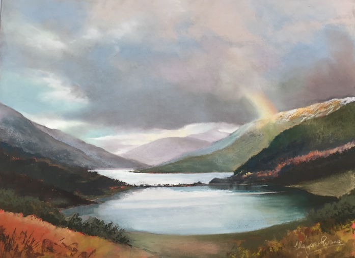 'Temperamental Weather Loch Voil' by artist Margaret Evans