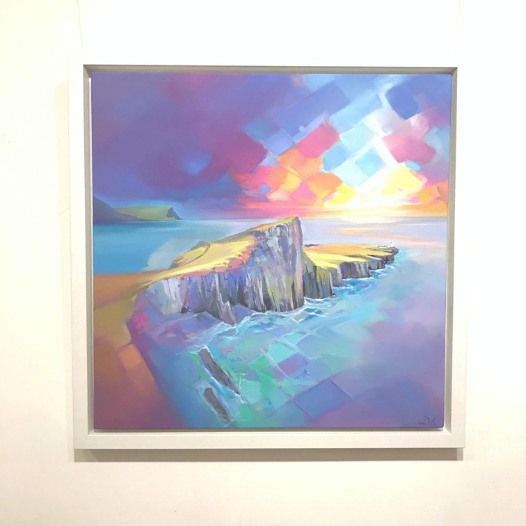 'Neist Point Depths' by artist DK  MacLeod