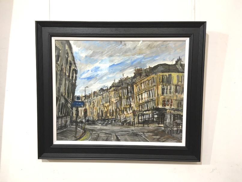 'Junction, Byres Road' by artist Matthew Thompson
