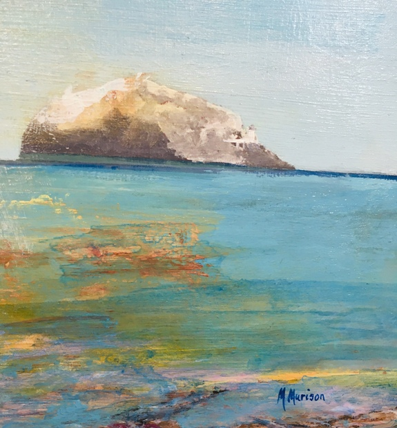 'Bass Rock' by artist Michael Murison