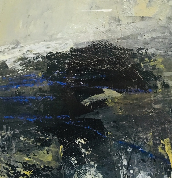 'Edge, North Sea I ' by artist Elaine Cunningham