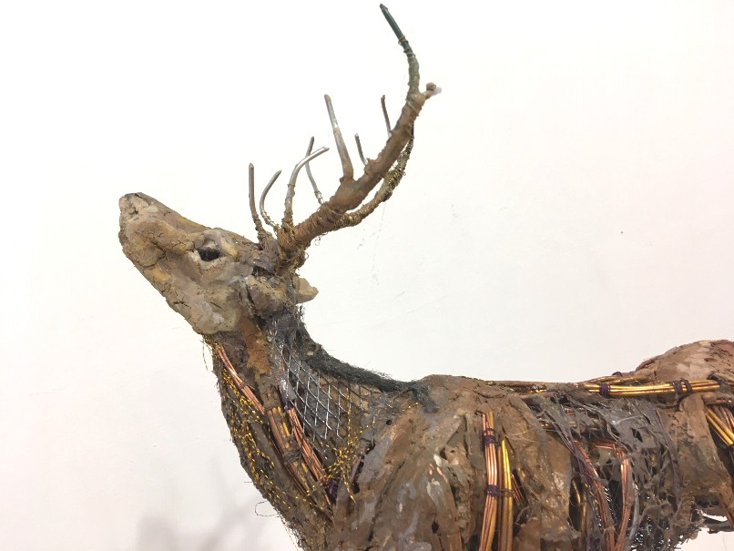 'Scoured Stag' by artist Mark Gibbs