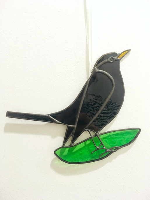 'Blackbird' by artist Eddy Crick