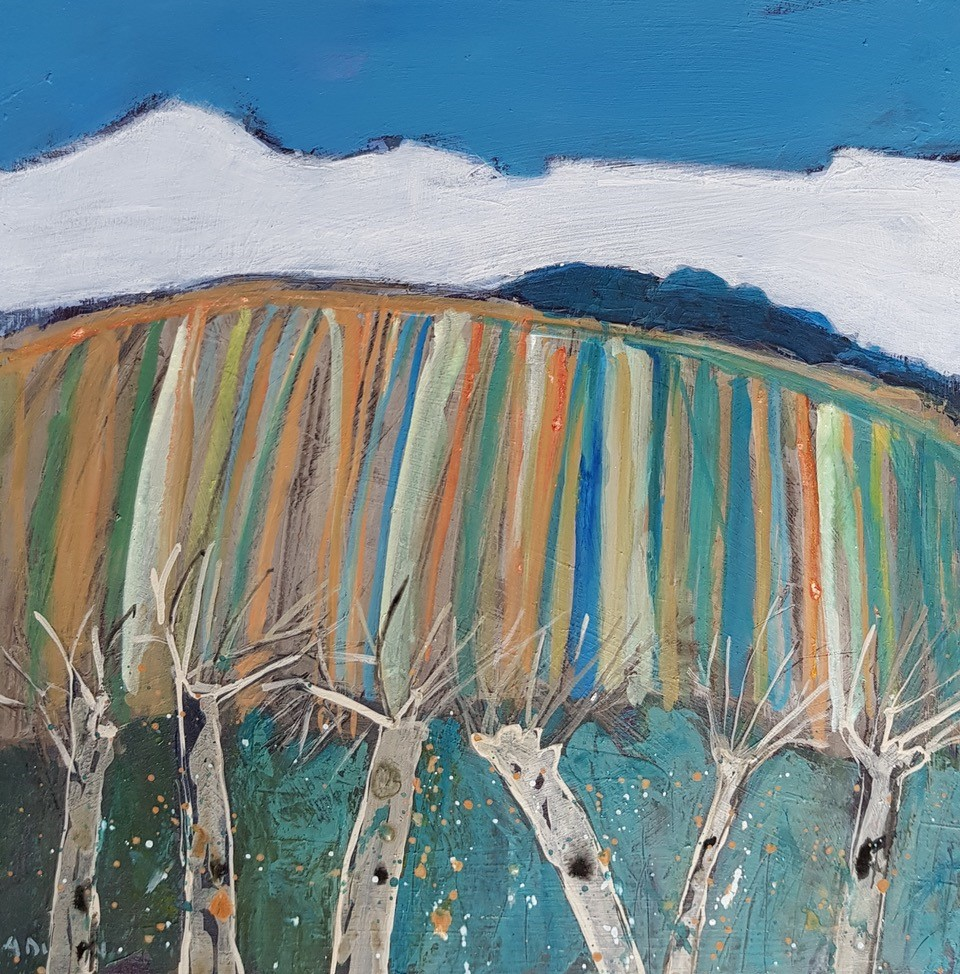 'Winter Trees' by artist Alison  Dickson