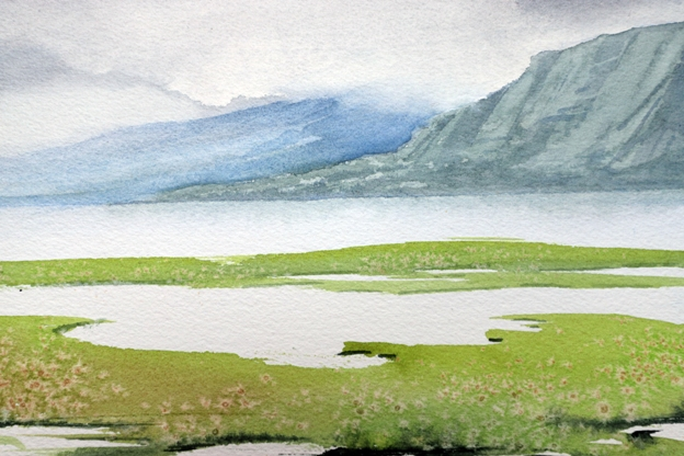 'Upper Loch Torridon' by artist Sarah Burns