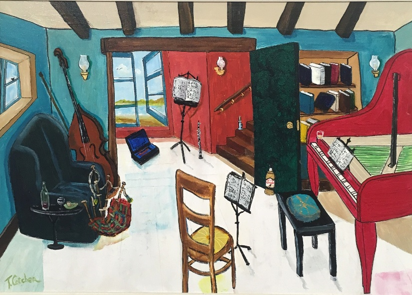 'The Music Room' by artist Tom Cotcher