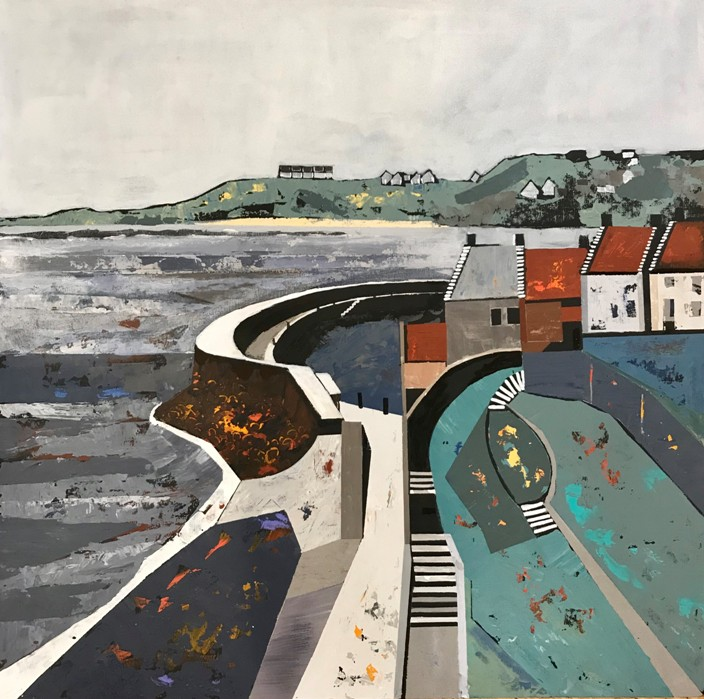 'Crail Harbour ' by artist Judith  Appleby