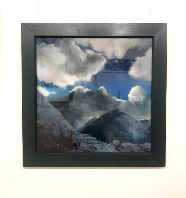 'Winter Clouds, Glencoe' by artist Margaret Evans