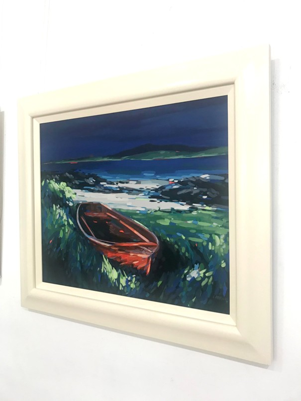 'Ashore Iona ' by artist Louise Dorian