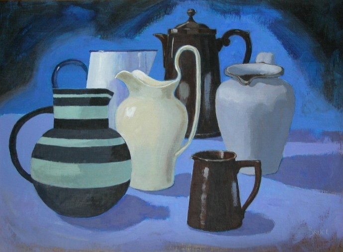 'The Big Jugs' by artist Elizabeth  Bruce GSWA