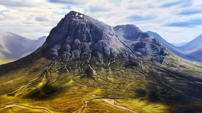 'Glencoe (Buachaille Etive Mor)' by artist Andrew Tough