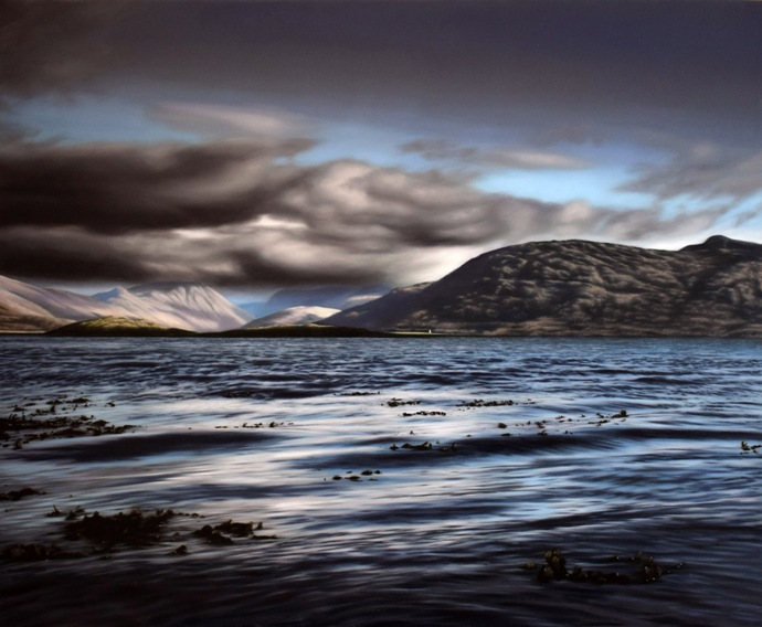 'Towards Glencoe' by artist Andrew Tough