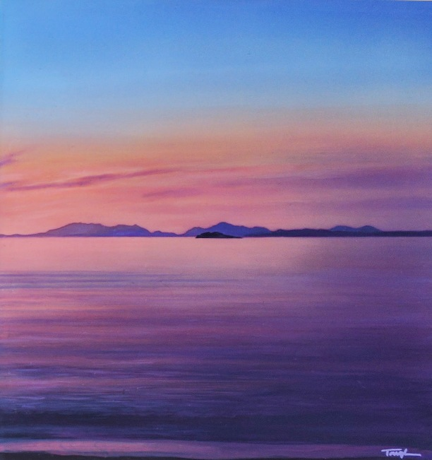 'Violet Skye' by artist Andrew Tough