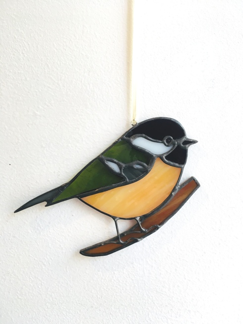 'Coal tit' by artist Eddy Crick