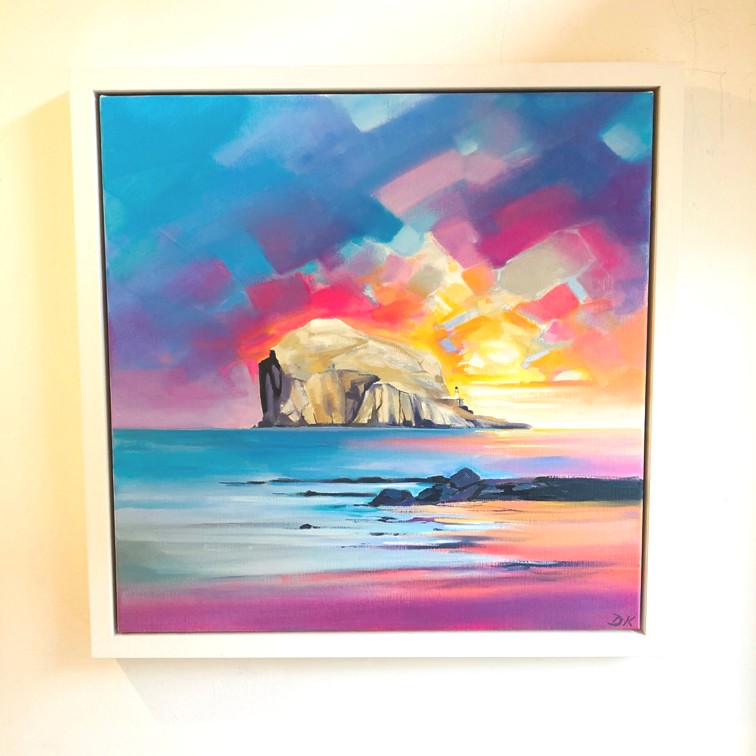 'Bass Rock Light' by artist DK  MacLeod